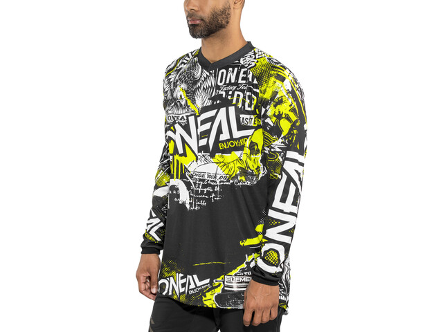 O'Neal Element Jersey Heren, attack (black/hi-viz)